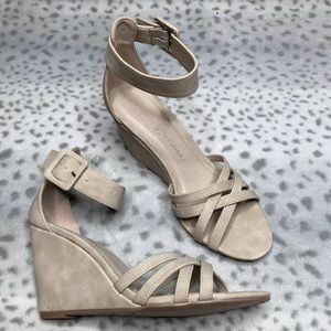 Chinese Laundry Clarissa Wedge Sandal Ankle Strap